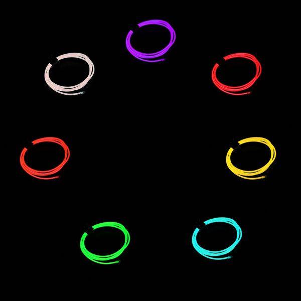 Neon Light EL Wire 1000mmx2.3mm