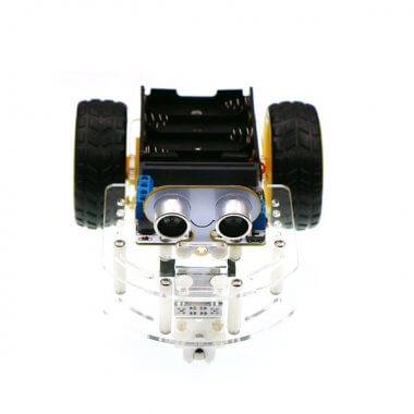 Motor:bit acrylic smart car kit