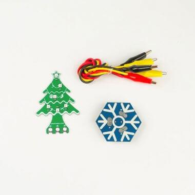 micro:bit Christmas kits (Christmas Tree Rainbow LED and Snowflake Buzzer)