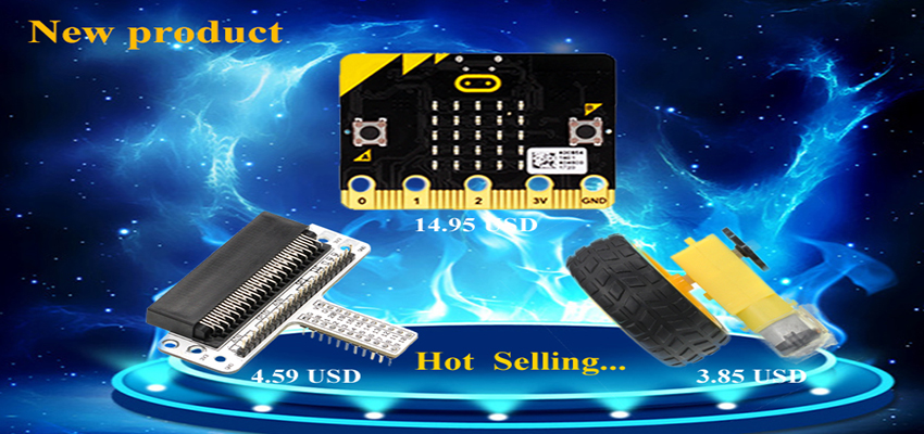 Friday New Product Post: Micro:bit Board and Accessories