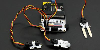 Make A Motion Detector with Micro:bit and Elecfreaks Octopus Kits