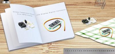 Friday Product Post: TMP36 Temperature Sensor Brick & DC Voltmeter