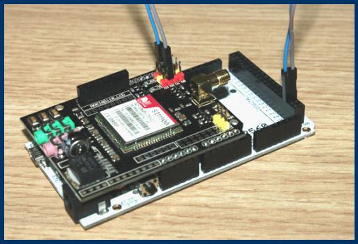 EFCom/GPRS Shield Tutorials