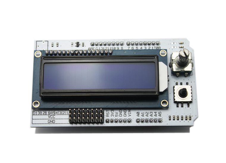 Mathias Wilhelm's review about LCD shield