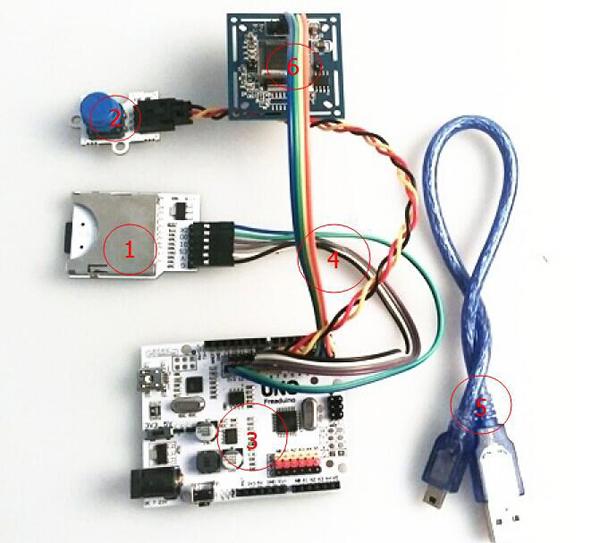 VC0706 Camera Module DIY Guide