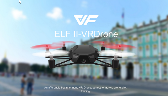 ELF II VRDrone, a perfect option for Christmas Gift for year 2016
