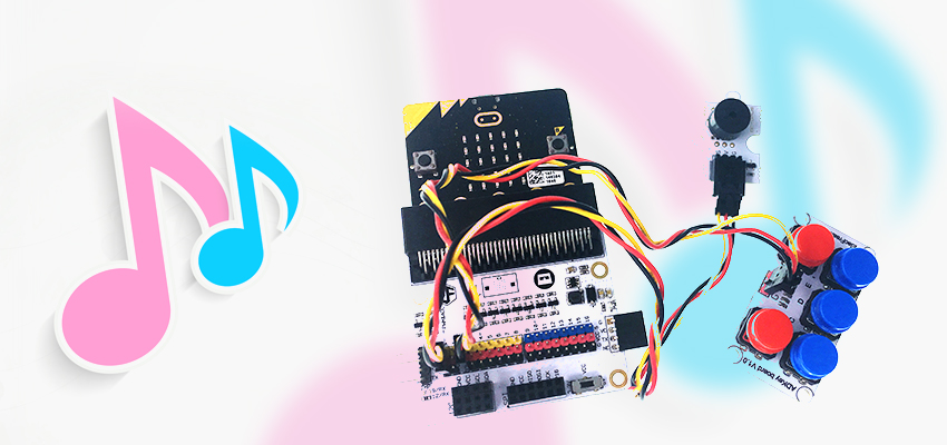 Make a Music Machine with ElecFreaks Micro:bit Tinker Kit