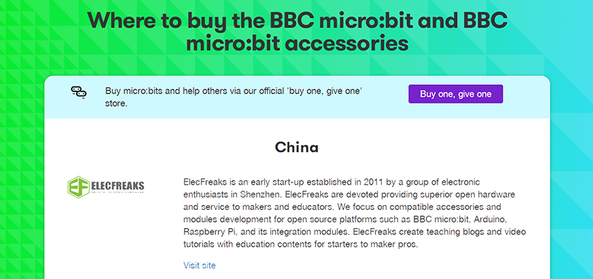 Bravo! Now We are A partners of Micro:bit Official!