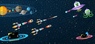 Micro:bit Game: Space Shooter