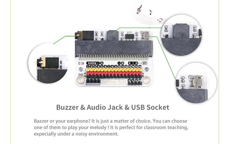 Sensor:bit :IO extension board for micro:bit